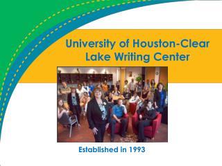 University of Houston-Clear Lake Writing Center