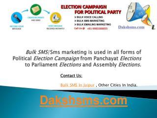 Bulk Sms Provider in India- Dakshsms