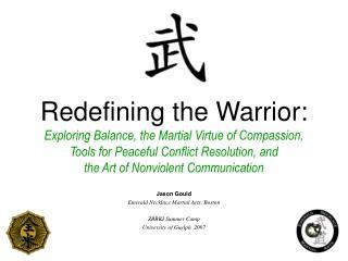 Jason Gould Emerald Necklace Martial Arts, Boston ZBBKI Summer Camp University of Guelph, 2007