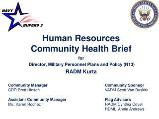 Human Resources         Community Health Brief