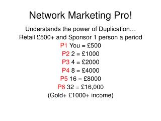 Network Marketing Pro!