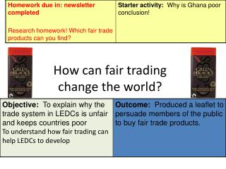 How can fair trading change the world?
