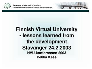 Information Society Virtual Finland virtual.finland.fi/