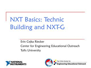 NXT Basics: Technic Building and NXT-G