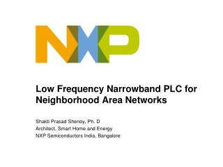 Low Frequency Narrowband PLC for Neighborhood Area Networks