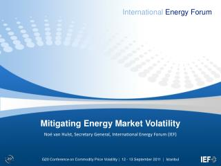 Mitigating Energy Market Volatility