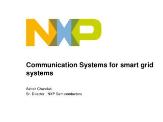 Communication Systems for smart grid systems
