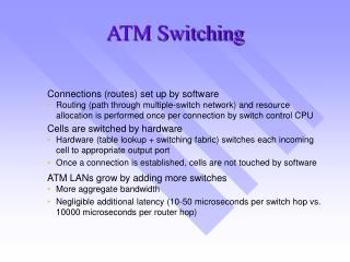 ATM Switching