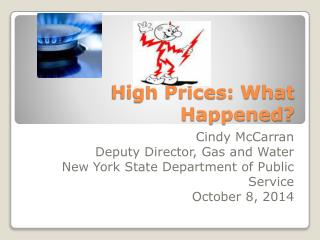 High Prices: What Happened?