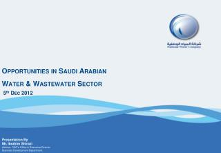 Opportunities in Saudi Arabian Water & Wastewater Sector