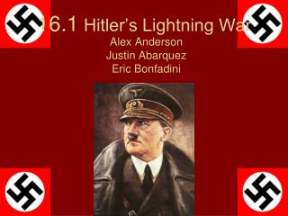 16.1  Hitler�s Lightning War