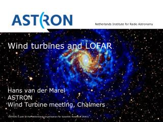 Wind turbines and LOFAR