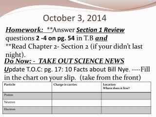 October 3, 2014