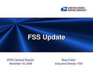 FSS Update