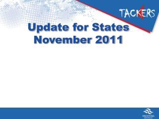 Update for States November 2011