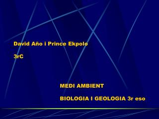 David Año i Prince Ekpolo 3rC