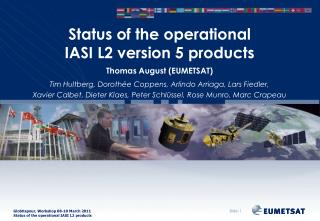 Status of the operational IASI L2 version 5 products