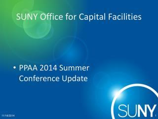 SUNY Office for Capital Facilities