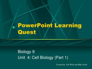 PowerPoint Learning Quest
