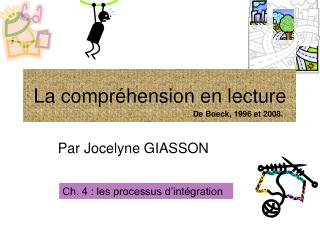 La compr hension en lecture