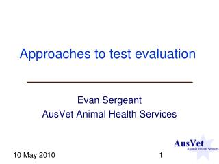 Approaches to test evaluation