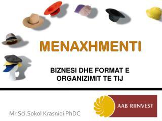 MENAXHMENTI