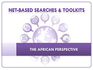 Net- Net-based searches &  ToolKITS