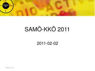 SAMÖ-KKÖ 2011