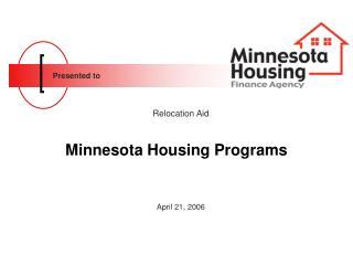 Minnesota Housing Programs