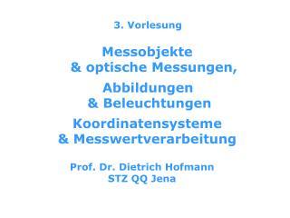 3. Vorlesung