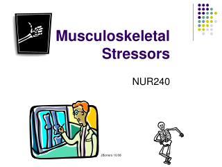 Musculoskeletal Stressors