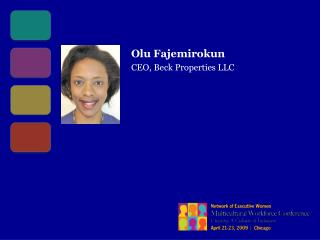 Olu Fajemirokun CEO, Beck Properties LLC
