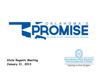 State Regents Meeting January 31, 2013