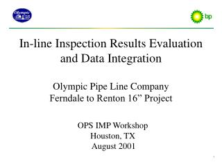 OPS IMP Workshop Houston, TX  August 2001