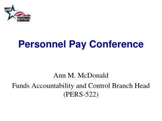 Personnel Pay Conference