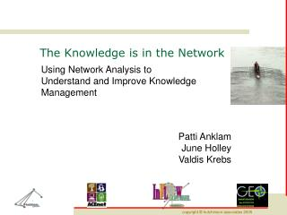 The Knowledge is in the Network