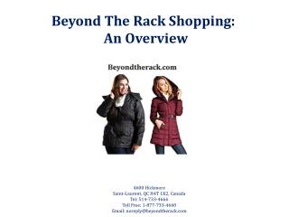 Beyond The Rack Shopping: An overview