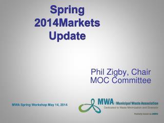 Spring 2014 Markets  Update