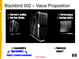Blackbird 002 – Value Proposition