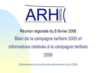 1 - Campagne 2005