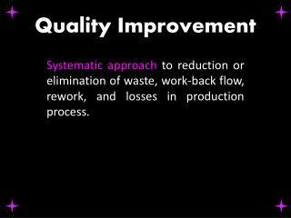 Q uality Improvement