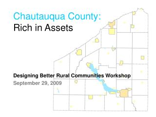 Chautauqua County: Rich in Assets