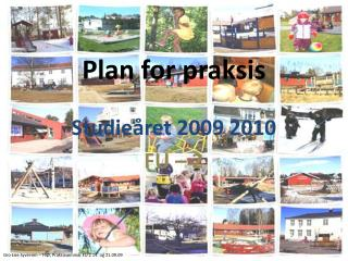 Plan for praksis