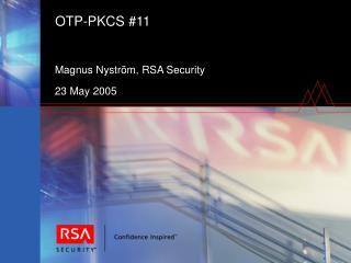 OTP-PKCS #11