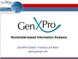 GenXPro  GmbH, Frankfurt am Main genxpro.de