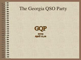 The Georgia QSO Party