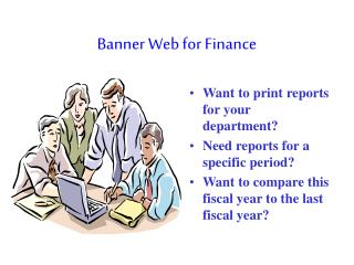 Banner Web for Finance