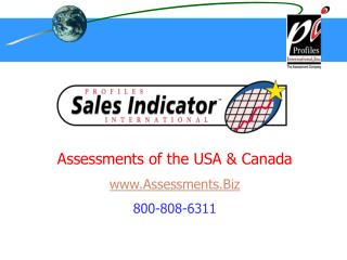 Assessments of the USA  Canada Assessments.Biz 800-808-6311