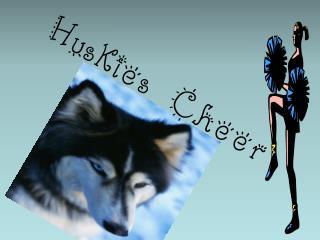 Huskies Cheer