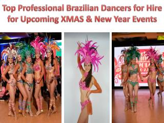 Top Professional Brazilian Dancers